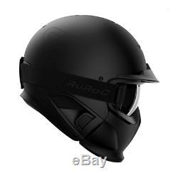 Ruroc Rg1 DX Noyau Farbe Noir Größe XL / XXL (60 64 Cm) Season19 / 20