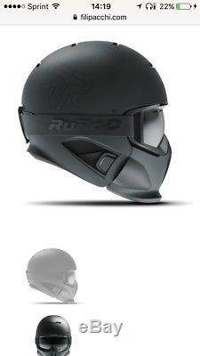 Ruroc Rg1-core Casque Taille M / L Snowboard Ski Motoneige Nib