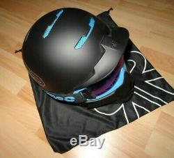 Ruroc Rg1-dx Black Ice Ski Und Snowboard Helm