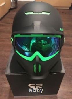 Ruroc Rg1-dx Casque De Ski / Snowboard Noir Viper M / L (57-60cm) Prix Conseillé £ 245