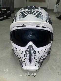 Ruroc Rg1-dx Casque Rare M/l Ski / Snowboard + Lunettes Maglock Ruroc