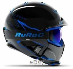 Ruroc Rg1-dx Casque Ski / Snowboard Chaos Ice M / L (57-60cm)