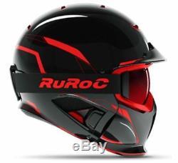 Ruroc Rg1-dx Casque Ski / Snowboard Chaos Inferno M / L (57-60cm)