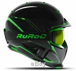 Ruroc Rg1-dx Casque Ski / Snowboard Chaos Viper Yl / S (54-56cm)