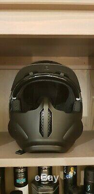 Ruroc Rg1-dx Casque Ski / Snowboard Noir M / L (57-60cm)