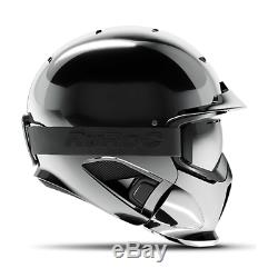 Ruroc Rg1-dx Casque Ski / Snowboard Shadow Chrome XL / XXL (61cm-64cm)
