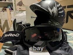 Ruroc Rg1-dx Chainbreaker (2019) Casque Et Lunettes, Snowboard Ski Sports De Neige