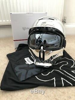 Ruroc Rg1-dx Chrome M / L Casque Ski / Snowboard. Brand New With Tags. Prix conseillé £ 295