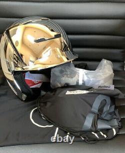 Ruroc Rg1-dx Chrome Ski Snowboard Helmet M/l (57-59cm) Saison Métallique 19/20 T.n.-o.