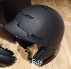 Ruroc Rg1-dx Core Casque Ski / Snowboard XL (61cm-64cm) Boxed Très Bon État