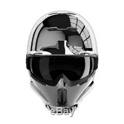 Ruroc Rg1-dx Couleur Argent Chrome Taille XL / XXL (60-64 Cm) Saison 19/20