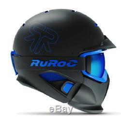 Ruroc Rg1-dx Couleur Black Ice Taille Yl / S (54 56 Cm)