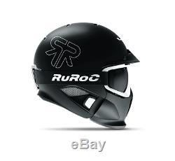 Ruroc Rg1-dx Eclipse Snowboard Ski Helemt Tout Neuf!