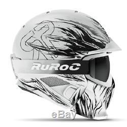 Ruroc Rg1-dx Farbe Tribe Merci Beaucoup Yl / S (54 56 Cm)