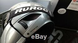 Ruroc Rg1-dx Magnum Limited Edition Ski Snowboard Casque Gris Petit Gunmetal