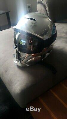 Ruroc Rg1-dx Ombre Chrome Casque M / L Ski / Snowboard