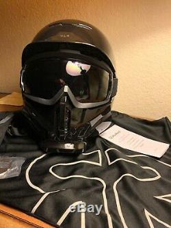 Ruroc Rg1-dx Ombre Chrome Snowboard / Ski Helmet