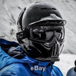 Ruroc Rg1-dx Onyx Ski / Snowboard XL Noir Marque Nouveau! Plus De Lunettes