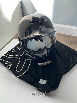 Ruroc Rg1-dx Shadow Chrome Helmet Ml- Ski / Snowboard