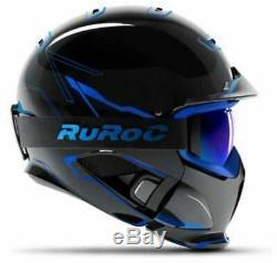 Ruroc Rg1-dx Ski / Snowboard Casque Chaos Glace M / L (57-60cm)