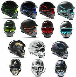 Ruroc Rg1-dx Ski Snowboard Helm Casque Titan Forge Reaper Glace Chrome Ltd