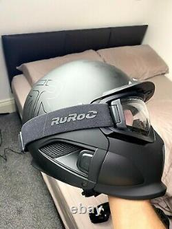Ruroc Rg1-dx Snow Sports Helmet Core (2020) Version Xl/xxl + Clear Maglens