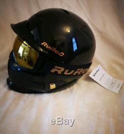 Ruroc Rg1-dx Titan 18/2019 Modèle 60-64cm Xl-xxl Neuf Jamais Utilisé