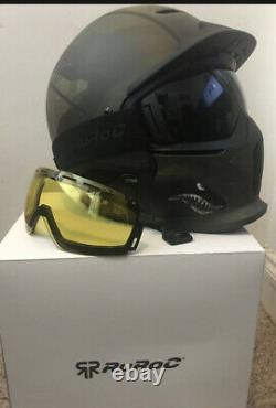 Ruroc Ski / Casque De Snowboard Taille M-l 57cm /62cm
