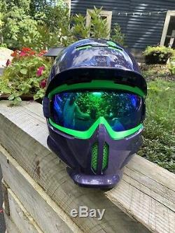 Ruroc Snowboard Casque M / L Rg1-dx Purple Haze 57-60cm