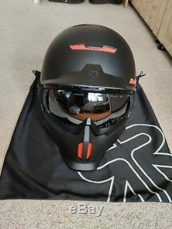 Ruroc Supernova Rg1-dx Ski / Vélo / Casque Snowboard + Plusieurs Extras (m / L)