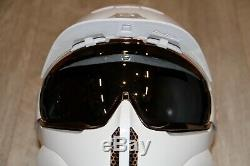 Ruroc Trinity Ski Snowboard Casque. Jeune L Adulte S Rose / Blanc Or
