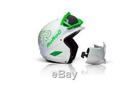Ruroc White Rg1-x Casque De Ski / Snowboard Brand New 2014/15 Range
