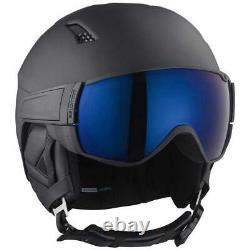 Salomon Driver S Casque De Snowboard De Ski De Neige + Lunettes Combo Taille Med 56-59cm