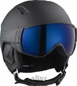 Salomon Herren Pilote S Ski- Und Snowboardhelm, Gr. M (56-59 Cm), Schwarz