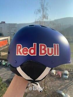 Ski Red Bull / Casque De Snowboard L Taille