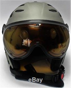 Slokker Balo Adaptiv Skihelm Ski Casque De Snowboard Eislaufen Sports D'hiver Gr 52-54