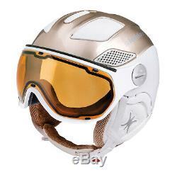Slokker Raider Gratuit Lady Or Blanc Visier Skihelm Snowboardhelm Damen Helm J19