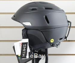 Smith Camber Mips Ski Snowboard Casque Adulte Moyen 55-59 CM Noir Mat Nouveau
