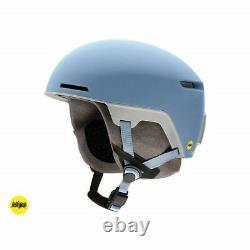 Smith Code Mips Ski / Casque De Neige, Matte Smokey Blue / Taille M Flambant Neuf! 55-59
