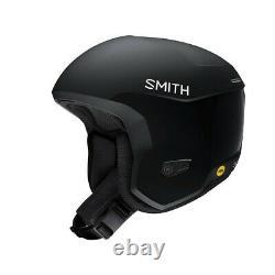 Smith Icon Mips Ski Race Casque Adulte Moyen 55-59 CM Noir Mat Plus Bonus Nouveau
