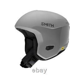 Smith Icon Mips Ski Race Helmet Adult Medium 55-59 CM Cloud Grey Plus Bonus Nouveau