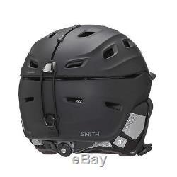 Smith Optics Casque Motoneige Vantage Ski Femme L 59-63cm Noir Mat