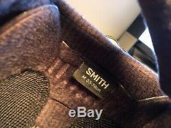 Smith Optics Vantage Asian Fit Snow Casque Matte Homme Noir Petit Unisexe Adulte