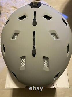 Smith Quantum Helmet Mips Large 59-63 Matte Cloudgrey Charcoal Nouveau Dans La Boîte