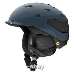 Smith Quantum Mips Ski Snowboard Helmet Adult Large 59-63 CM Français Navy 2021