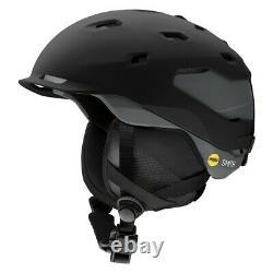 Smith Quantum Mips Ski Snowboard Helmet Adult Medium 55-59cm Charbon Noir 2021