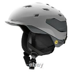 Smith Quantum Mips Snowboard Helmet Adult Medium 55-59 CM Cloudgrey Charcoal Nouveau