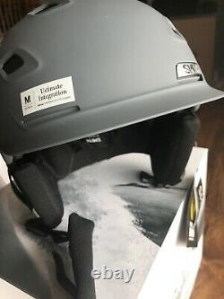 Smith Vantage Mips Casque Moyen Matte Charcoal Ski Snowboard Casque