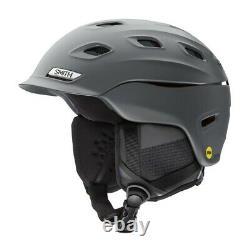 Smith Vantage Mips Ski Helmet Grand Nouveau Charbon De Bois Mat