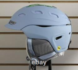 Smith Women's Vantage Mips Ski Snowboard Helmet Adulte Large 59-63 CM Smokey Blue